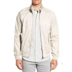 Ben Sherman Men's Core Harrington Jacket Putty